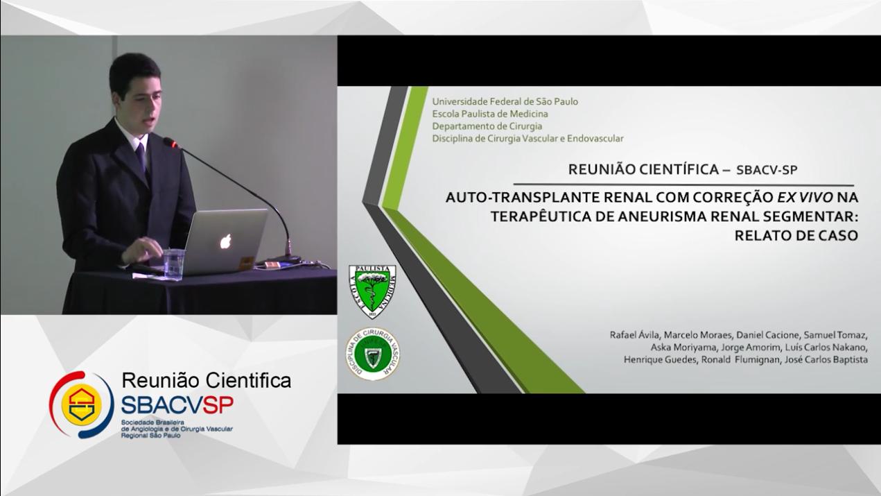 AUTOTRANSPLANTE RENAL COM CORREÇÃO EX VIVO NA TERAPÊUTICA DE ANEURISMA RENAL SEGMENTAR RELATO DE CASO