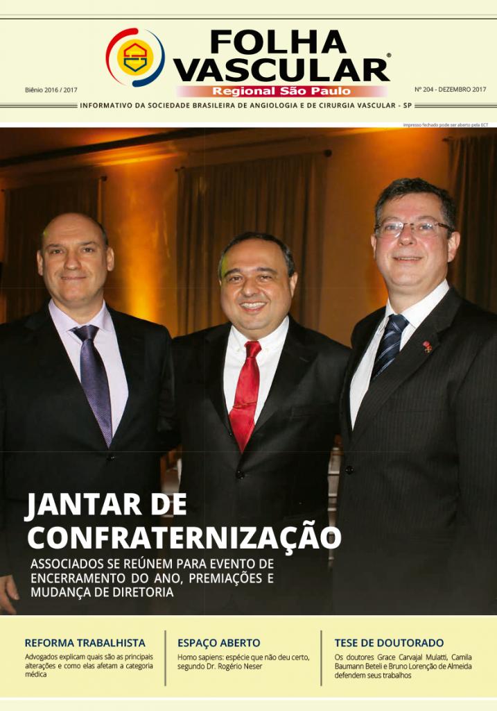 Folha Vascular 204 - dezembro / 2017