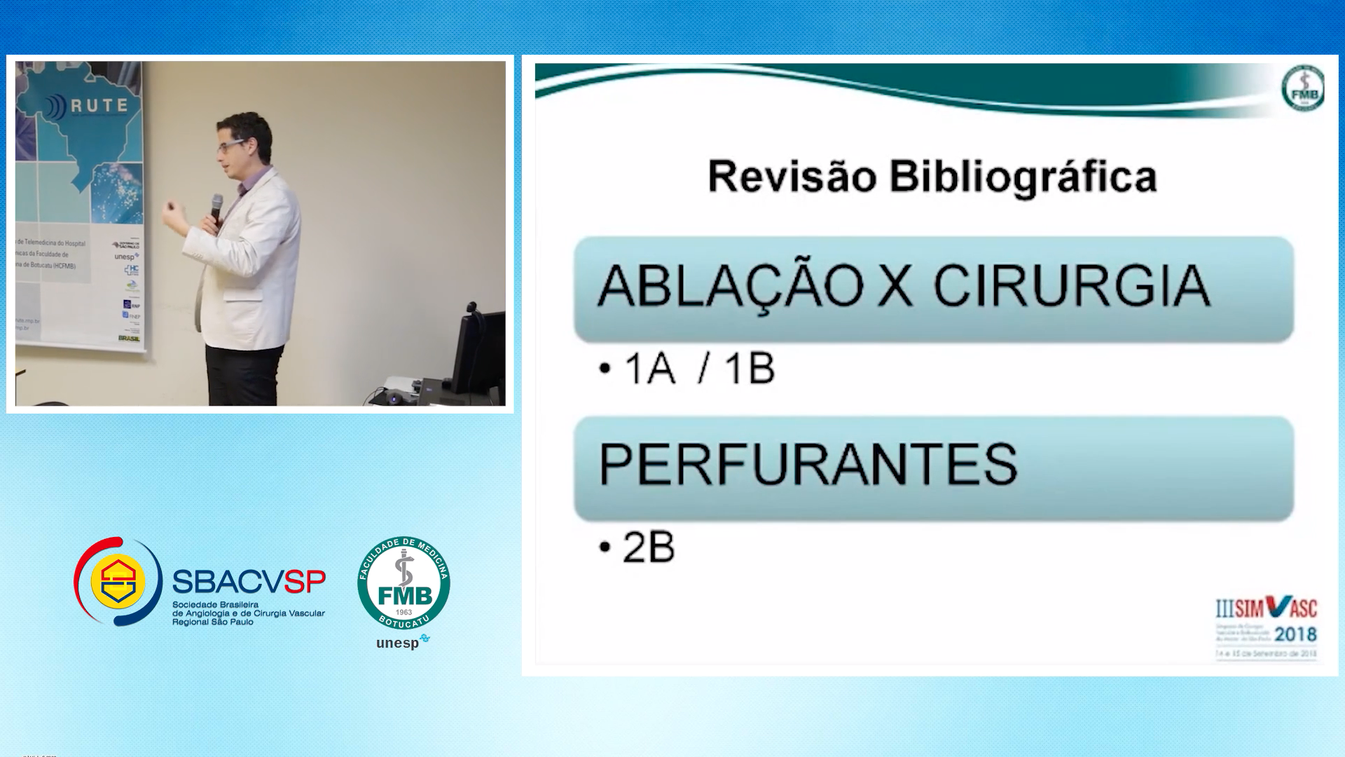 12/09/2018 - Radioablação venosa, Dr. Rafael Pimenta