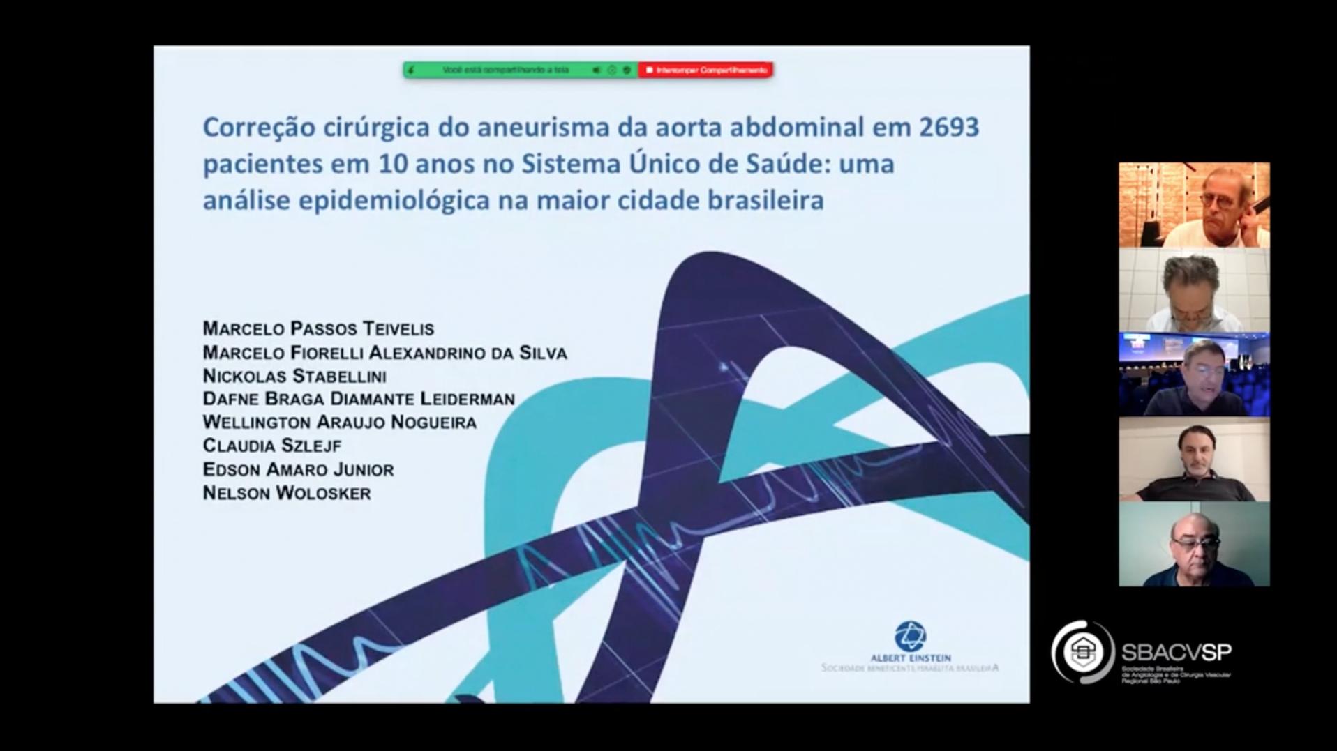 Avaliação epidemiológica de aorta torácica através de tomografia computadorizada de baixa dosagem